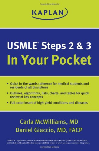Usmle Steps 2 And 3: In Your Pocket front-927104