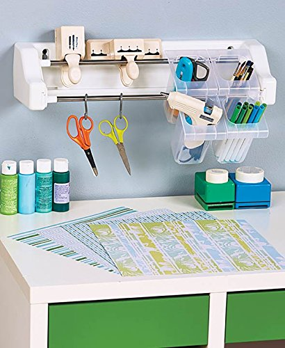 Craft wall organizer 2 dowel system craft and tool for Craft wall storage system