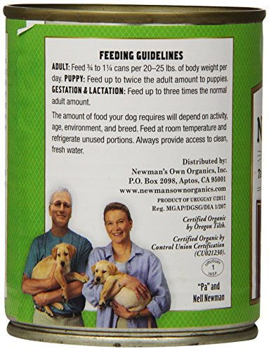 Newman's Own Organics Beef and Liver Grain-Free for Dogs, 12-Ounce Cans (Pack of 12)_Image3
