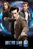 Doctor Who Trio Poster with Accessory multicoloured