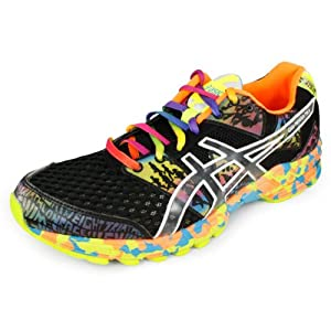 Asics Men`s Gel Noosa Tri 8 Runnning Shoes Onyx/Confetti Black