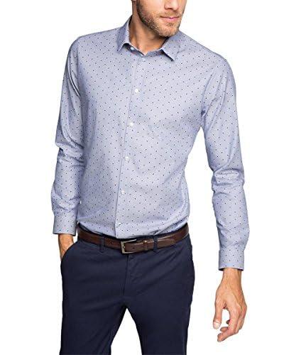 Esprit Camicia Uomo Slim Fit [Blu]