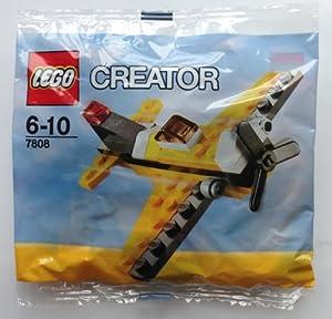 LEGO Creator: Yellow Airplane Set 7808 (Bagged)