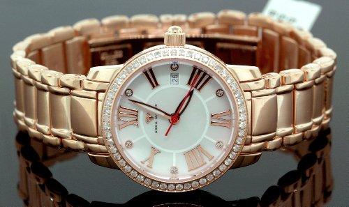 AQUA MASTER 0112MUT6G6Z - Reloj para mujeres, correa de metal color rosa