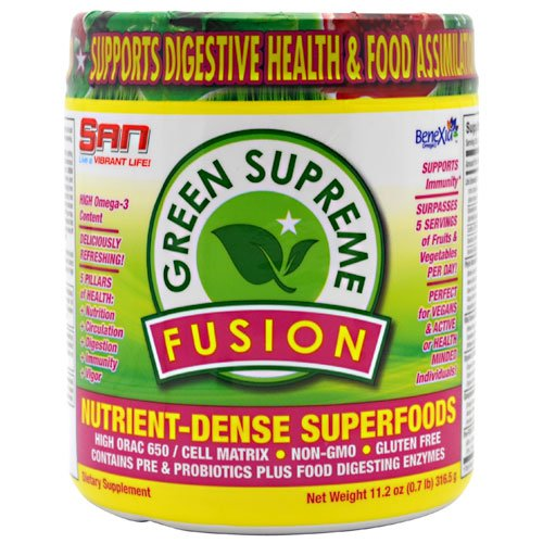 San Nutrition Green Supreme Fusion 30 Serving.