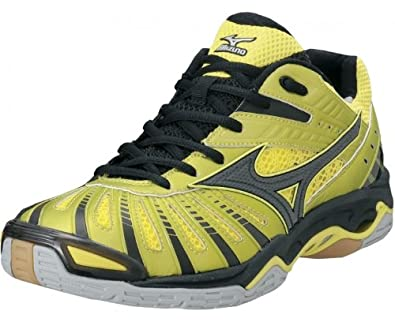 Mizuno Wave Stealth 2 Indoor Court Shoes - 12 - Yellow