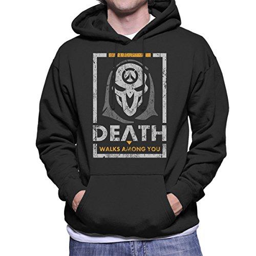 Reaper Or Die Overwatch Men's Hooded Sweatshirt