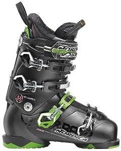 Nordica H2 Ski Boots Green Mens Sz 9.5 (27.5)