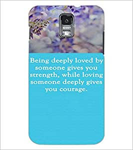 PrintDhaba Quote D-3719 Back Case Cover for SAMSUNG GALAXY S5 (Multi-Coloured)