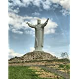 Christ The King Statue Poster Art Photo Tallest Statue of Jesus in the World Posters Photos 16x20