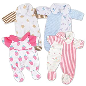 10 Inch to 13 Inch Baby Doll Sleepwear