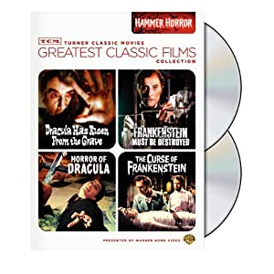 Click to buy Scariest Movies of All Time: TCM Greatest Classic Film Collection: Hammer Horror from Amazon!
