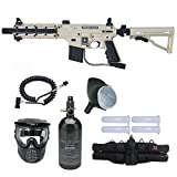 Tippmann US Army Project Salvo Paintball Gun Prime N2 HPA Package - Tan