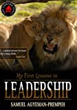 img - for My First Lessons in Leadership (Teen Leadership Series Book 1) book / textbook / text book