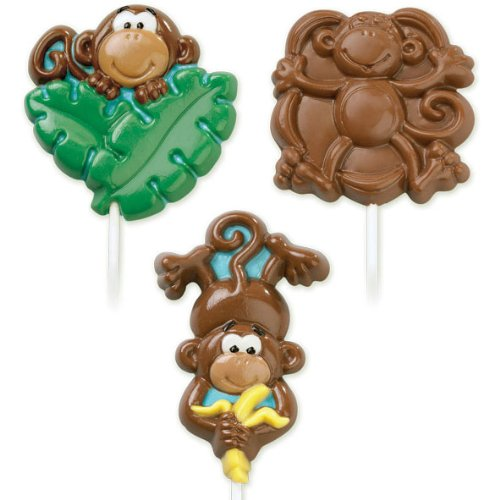 Wilton Monkey Lollipop Mold