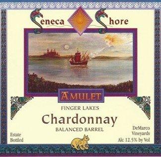 Nv Seneca Shore Wine Cellars Chardonnay - Balanced Barrel, Finger Lakes Table Wine, 750 Ml