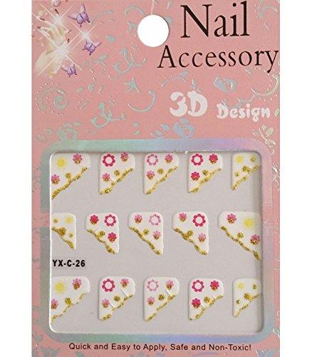 Nail art - Stickers pour ongles - Modèle C-26