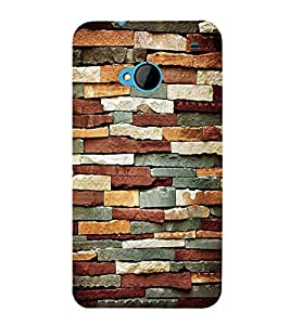 Expensive Rock Pattern 3D Hard Polycarbonate Designer Back Case Cover for HTC One M7 :: HTC M7