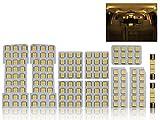 トヨタ 10系 アルファード 専用設計 電球色 3000K LED ルームランプ 11点セット ANH10W/MNH10W/ATH10W ゴールデンシリーズ 前期/後期 対応