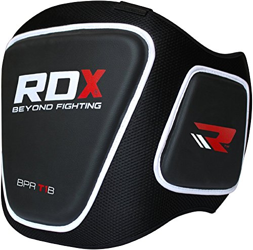 RDX Boxing Belly Pad Chest Guard MMA Body Protector Martial Arts Rib Shield Armour Taekwondo Training (Boxing Rib Protector compare prices)