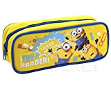 Despicable Me Minions I Try Harder  Pencil Case (1 Pencil Case) (Yellow)
