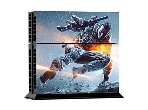 TOP-BF-Soldier-PS4-Sticker-Battle-Field-4-Skin-for-Sony-PlayStation-4-System