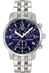 Mens Watch Tissot T17158642 T-Sport T-Sport PRC200 Chronograph Blue Dial