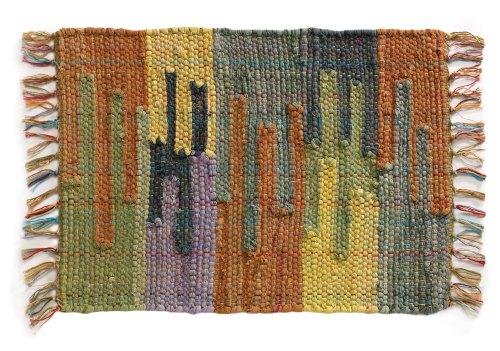 Extra Weave USA Handwoven Cotton Mesa Rug, 2' X 3'