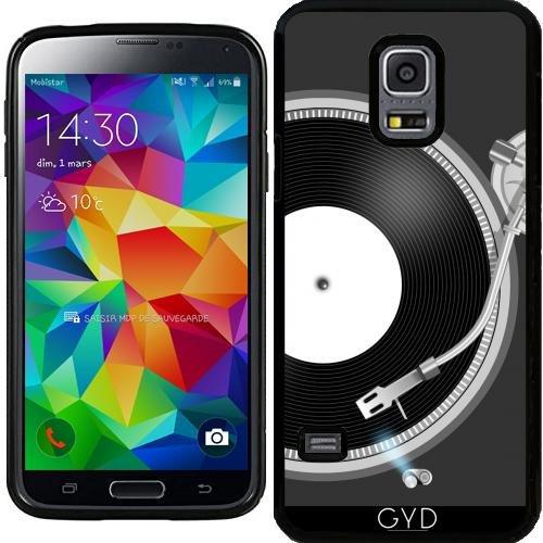 Custodia in silicone per Samsung Galaxy S5 Mini - Giradischi by AnishaCreations