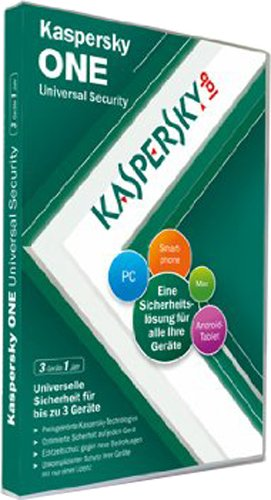 Kaspersky ONE Universal Security 3 Lizenzen (DVD) Picture