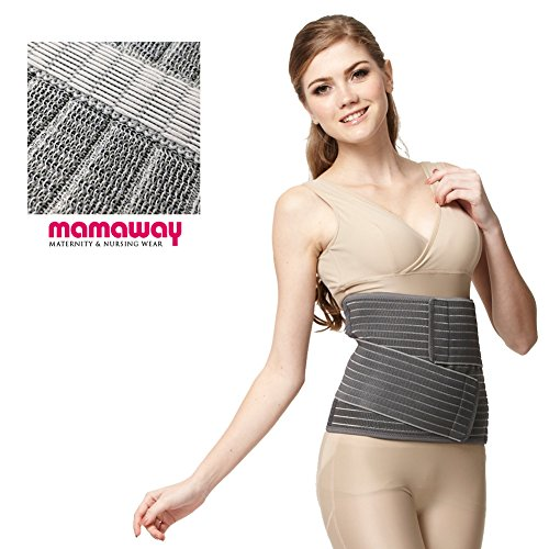 Mamaway Postpartum Belly Band - Comfortable & Incredibly Stretchy - Large