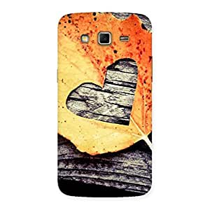 Premium Leaf Heart Back Case Cover for Samsung Galaxy Grand 2