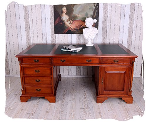 englischer schreibtisch partnerdesk im empirestil gigantisch com forafrica. Black Bedroom Furniture Sets. Home Design Ideas