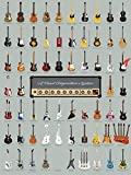 Vintage Guitar Poster Print - A Visual Compendium of Guitars (18 X 24) By Pop Chart Lab