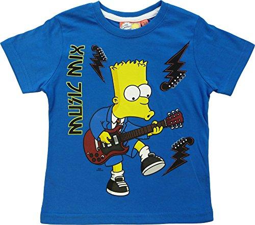 The Simpsons -  T-shirt - ragazzo Blu blu