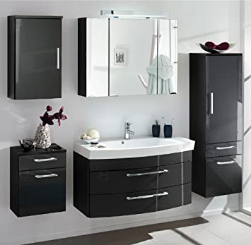 badm bel set rimini222 hochglanz t rkis wtjcuvb. Black Bedroom Furniture Sets. Home Design Ideas