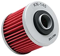 K&N KN-145 Powersports High Performance Oil Filter from K&N