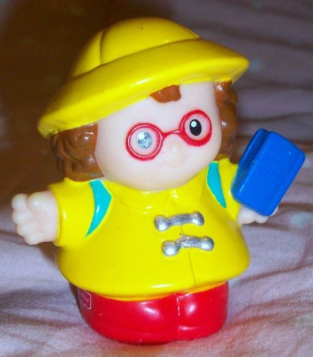 Fisher Price Little People Maggie Fire Fighter Replacement Figure Doll Toy - 1