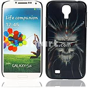 Metal 3D Protective Case with Shackles Cross Skull Pattern for Samsung S4 i9500