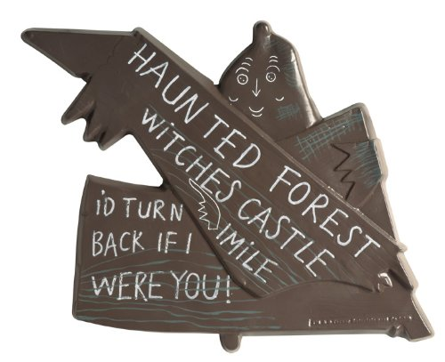 Wizard Of Oz Haunted Forest Sign, 75Th Anniversary Edition