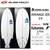 SURF TECH サーフテック CHANNEL ISLAND チャンネルアイランド AVERAGE JOE アベレージジョー FUTURE 5'9 (店頭在庫, 5.9(175.26cm)Future)