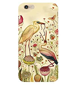 Fiobs Swap Duck Clourfull Parttern Design Phone Back Case Cover for Apple iPhone 6s Plus