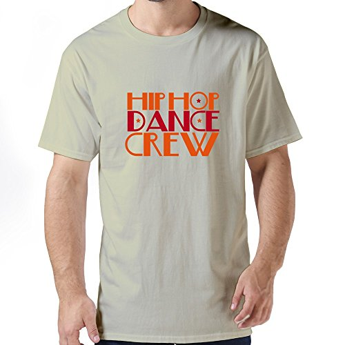 Tianyi Custom Men Hip Hop Dance Crew T Shirt Sizexs Colornatural