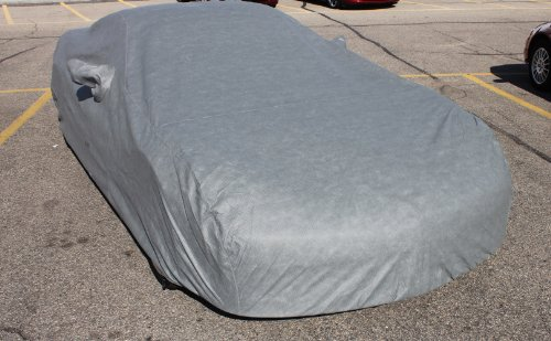 Leader Accessories Gray 4 Layer Corvette Car Cover