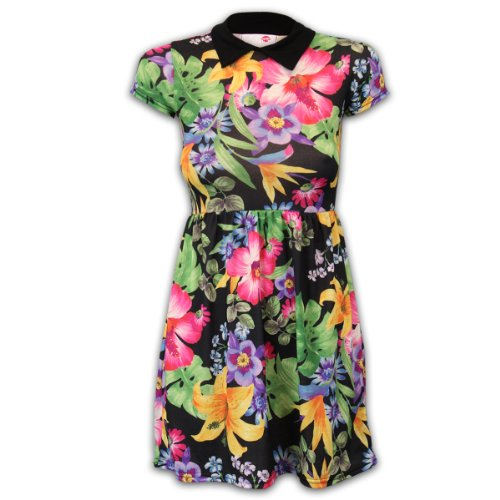 Girls' Dress Laflwcol Multicolour 13 Years front-176252