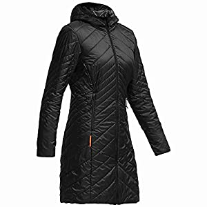Icebreaker Women's Halo 3/4 Jacket, Black, X-Large