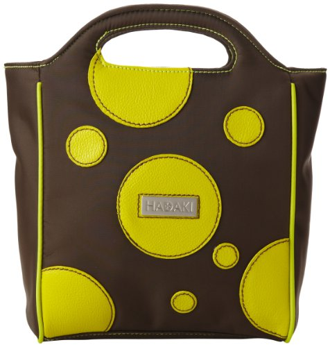 Hadaki Insulated Pod Lunch Tote,Bubbles Green,one size
