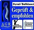 Togu Dynair Ballkissen, luftgefülltes, dynamisches Trainings- und Therapiegerät aus Ruton, belastbar bis 200 kg, Ja9400150