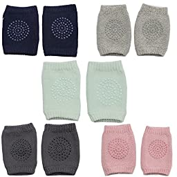 Toddler Baby Knee Pad Protector,Infant Cotton Crawling Elbow Kneecap Leg Warmers