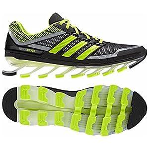 adidas Springblade Razor Men's Running Shoes (10, Black/Metallic Silver (G98612))